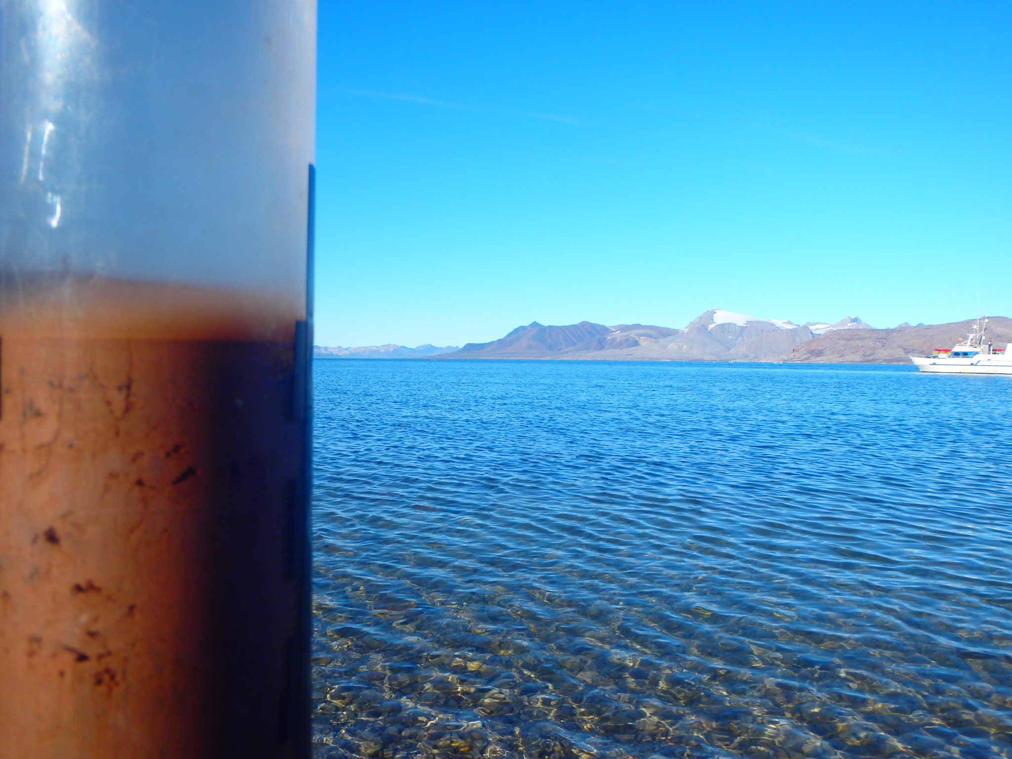 Up close with iron-rich sediments from Kongsfjorden, Svalbard | Research Group Loy | APRI